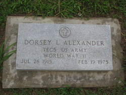 Dorsey Leo Alexander
