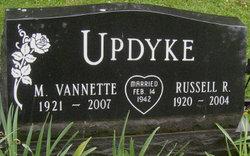 Vannette M <i>Wright</i> Updyke