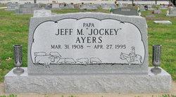 Jeff M Jockey Ayers