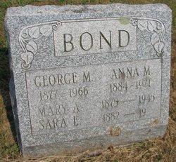Mary A Bond