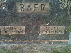 Emma Isabelle <i>Ginter</i> Baer