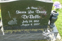 Sharon Lee <i>Dorsey</i> DiBello