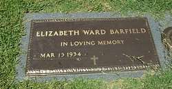 Elizabeth <i>Ward</i> Barfield