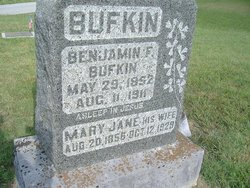 Mary Jane <i>Schofield</i> Bufkin