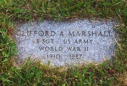 Clifford Alwyn Cliff Marshall