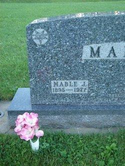 Mabel Janette <i>Van Sickle</i> Mabon