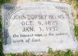 John Dorsey Nelms