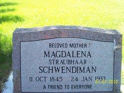 Magdalena <i>Straubhaar</i> Schwendiman