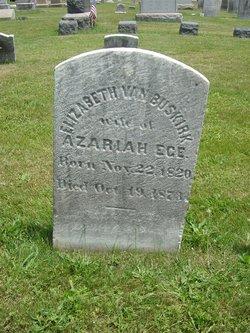 Elizabeth <i>Van Buskirk</i> Ege