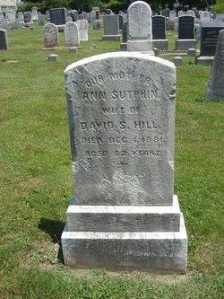 Ann <i>Sutphin</i> Hill