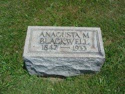 Anagusta M. Blackwell
