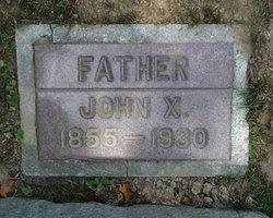 John Xavier Rieber