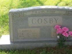 Alpha L Cosby