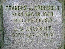 Frances J. <i>Wilcox</i> Archbold