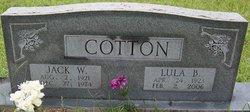 Lula B. <i>Mathis</i> Cotton