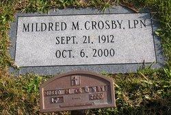 Mildred <i>Marshall</i> Crosby