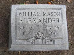 William Mason Alexander