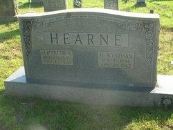 Elizabeth <i>Kilpatrick</i> Hearne