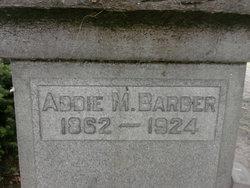 Addie M Barber