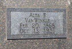 Alta F. <i>Miller</i> VanWinkle