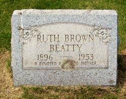 Ruth <i>Brown</i> Beatty