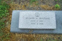 Mildred M <i>Belk</i> Bartling