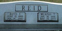 Murphy T Reid