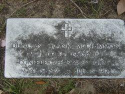 Dr Duncan Frank McCrimmon