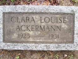 Clara Louise Ackermann