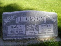 Royle <i>Swainston</i> Thomson