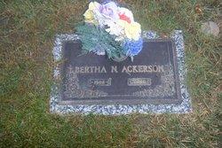 Bertha Nadine <i>Ball</i> Ackerson