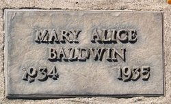 Mary Alice Baldwin