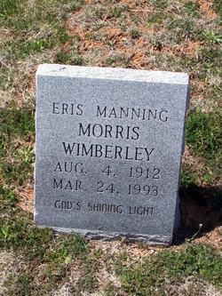 Eris Manning <i>Morris</i> Wimberley