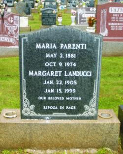 Margaret Fio <i>Parenti</i> Landucci