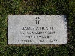 PFC James A Heath