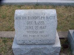 Macon Randolph Batte