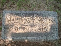 Malinda Mary <i>Cooper</i> Akers