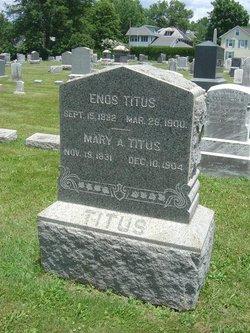 Mary A <i>Dalrymple</i> Titus