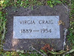 Virgia Alice <i>Redifer</i> Craig