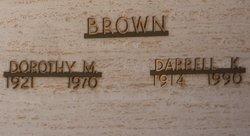 Dorothy Marguerite <i>Abraham</i> Brown