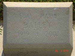 Eual Marie <i>Wilen</i> Bailey