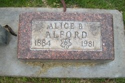 Alice B <i>Courtright</i> Alford