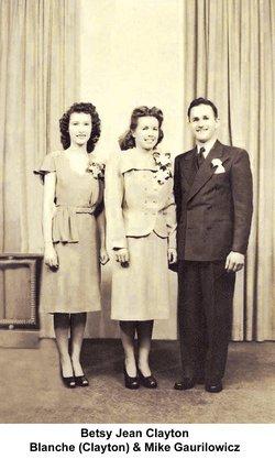 Blanche Margaret <i>Clayton</i> Gaurilowicz
