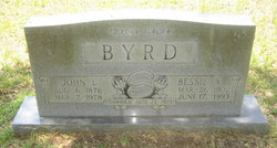 Bessie B <i>Wiggins</i> Byrd