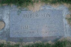 Esse Lee <i>Reed</i> Robertson