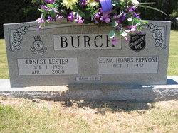 Edna Hobbs <i>Prevost</i> Burch