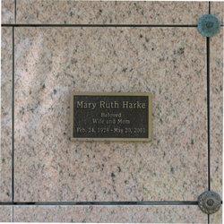 Mary Ruth <i>McNeil</i> Breunle Harke