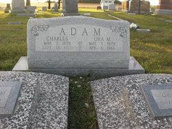 Ora Mae <i>Hall</i> Adam