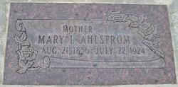 Inger Marie <i>Larsen</i> Ahlstrom