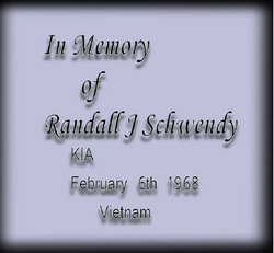 PFC Randall James Schwendy